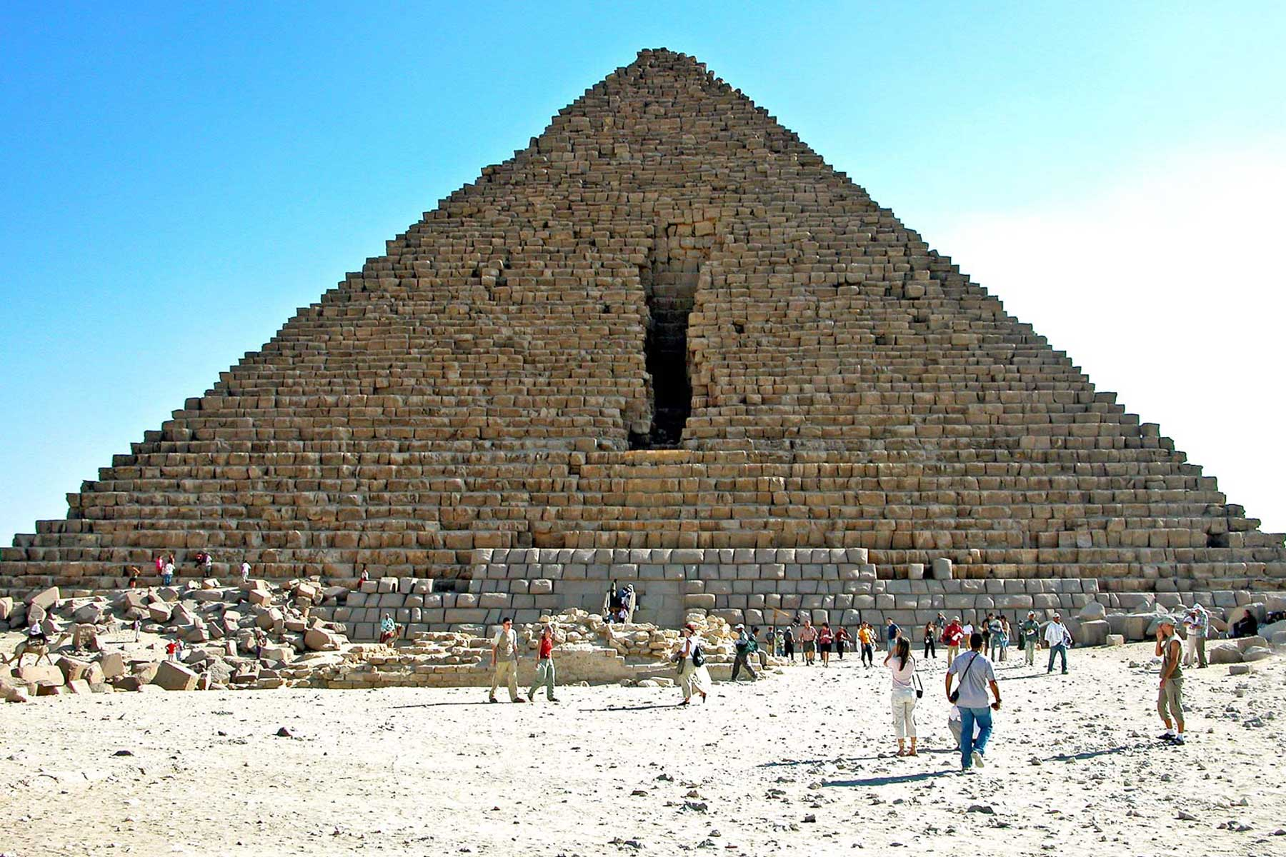 The Pyramid Of Khufu Vacations In Egypt
