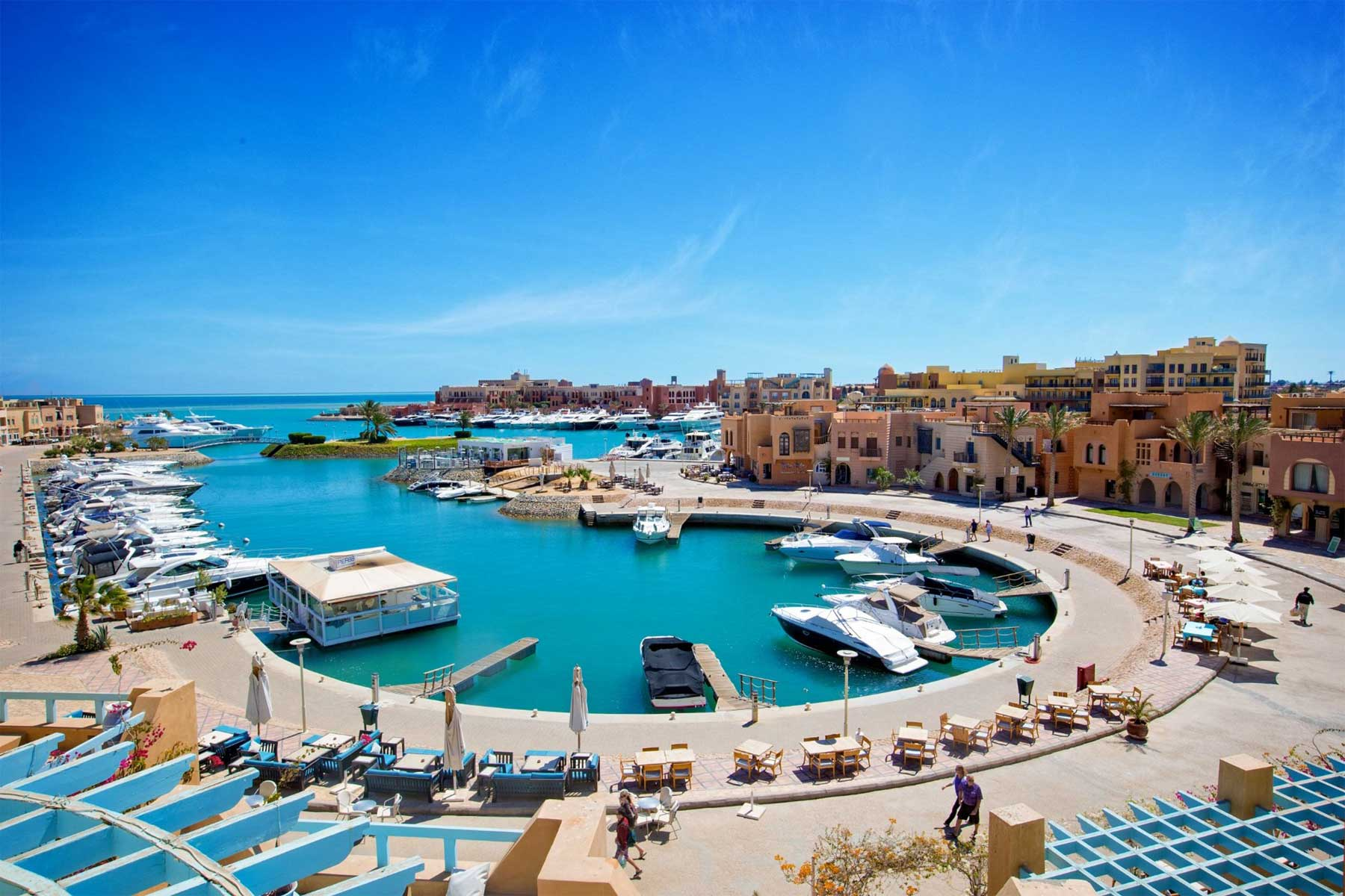 best places in el gouna